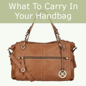 what to carry in your bag